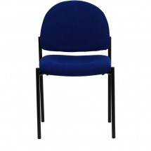 Flash Furniture BT-515-1-NVY-GG Navy Fabric Comfortable Stackable Steel Side Chair addl-3