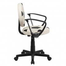 Flash Furniture BT-6177-SOC-A-GG Soccer Task Chair with Arms addl-1
