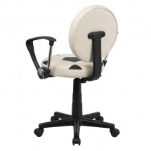 Flash Furniture BT-6177-SOC-A-GG Soccer Task Chair with Arms addl-2