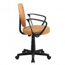 Flash Furniture BT-6178-BASKET-A-GG Basketball Task Chair with Arms addl-1