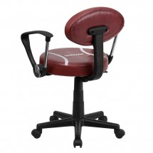 Flash Furniture BT-6181-FOOT-A-GG Football Task Chair with Arms addl-2