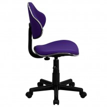 Flash Furniture BT-699-PURPLE-GG Purple Fabric Ergonomic Task Chair addl-1
