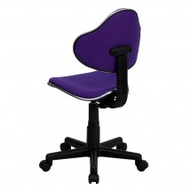 Flash Furniture BT-699-PURPLE-GG Purple Fabric Ergonomic Task Chair addl-2