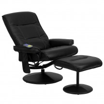 Flash Furniture BT-7320-MASS-BK-GG Massaging Black Leather Recliner and Ottoman with Leather Wrapped Base addl-4