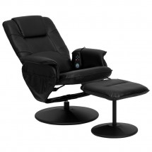 Flash Furniture BT-753P-MASSAGE-BK-GG Massaging Black Leather Recliner and Ottoman with Leather Wrapped Base addl-4