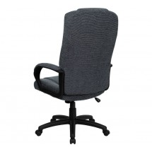 Flash Furniture BT-9022-BK-GG High Back Gray Fabric Executive Office Chair addl-2