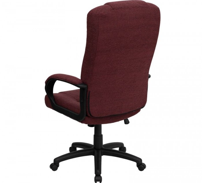 Flash Furniture Bt 9022 By Gg High Back Burgundy Fabric Executive Office Chair