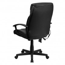 Flash Furniture BT-9578P-GG High Back Massaging Black Leather Executive Office Chair addl-2