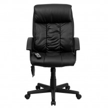 Flash Furniture BT-9578P-GG High Back Massaging Black Leather Executive Office Chair addl-3