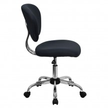 Flash Furniture H-2376-F-GY-GG Mid-Back Gray Mesh Task Chair addl-1