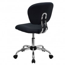 Flash Furniture H-2376-F-GY-GG Mid-Back Gray Mesh Task Chair addl-2