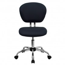 Flash Furniture H-2376-F-GY-GG Mid-Back Gray Mesh Task Chair addl-3