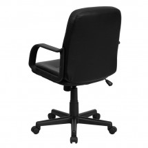 Flash Furniture H8020-GG Mid-Back Black Glove Vinyl Executive Office Chair addl-2