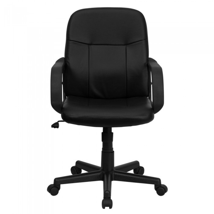 Phenomenal Flash Furniture H8020 Gg Mid Back Black Glove Vinyl Ocoug Best Dining Table And Chair Ideas Images Ocougorg