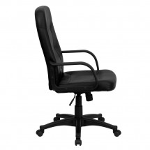 Flash Furniture H8021-GG High Back Black Glove Vinyl Executive Office Chair addl-1