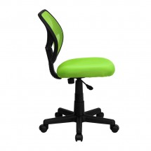 Flash Furniture WA-3074-GN-GG Mid-Back Green Mesh Task Chair addl-4