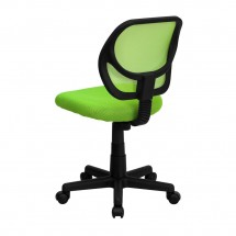 Flash Furniture WA-3074-GN-GG Mid-Back Green Mesh Task Chair addl-1