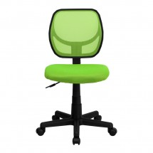 Flash Furniture WA-3074-GN-GG Mid-Back Green Mesh Task Chair addl-2