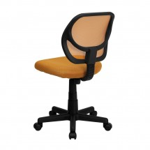Flash Furniture WA-3074-OR-GG Mid-Back Orange Mesh Task Chair addl-1