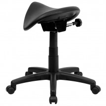 Flash Furniture WL-915MG-GG Backless Saddle Stool addl-1