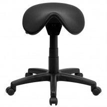 Flash Furniture WL-915MG-GG Backless Saddle Stool addl-2
