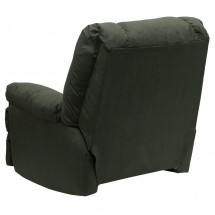 Flash Furniture WM-8500-266-GG Contemporary Montana Loden Microfiber Suede Rocker Recliner addl-2
