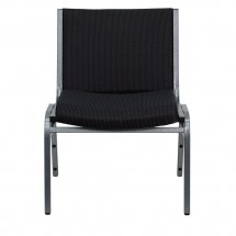 Flash Furniture XU-60555-BK-GG HERCULES Series 1000 lb. Capacity Big and Tall Extra Wide Black Fabric Stack Chair addl-3