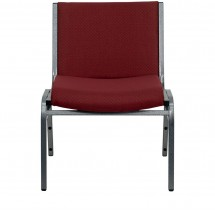 Flash Furniture XU-60555-BY-GG HERCULES Series 1000 lb. Capacity Big and Tall Extra Wide Burgundy Fabric Stack Chair addl-2