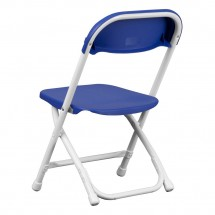 Flash Furniture Y-KID-BL-GG Kids Blue Plastic Folding Chair addl-1