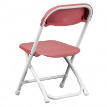 Flash Furniture Y-KID-BY-GG Kids Burgundy Plastic Folding Chair addl-1