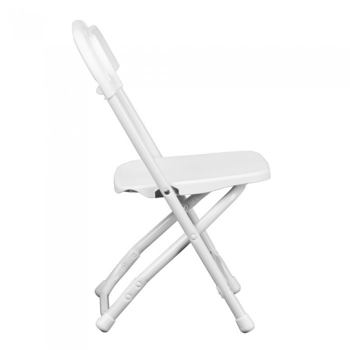 Magnificent Flash Furniture Y Kid Wh Gg Kids White Plastic Folding Chair Caraccident5 Cool Chair Designs And Ideas Caraccident5Info