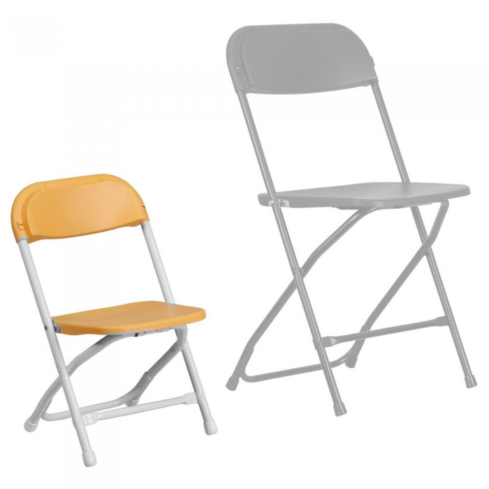 Strange Flash Furniture Y Kid Yl Gg Kids Yellow Plastic Folding Chair Caraccident5 Cool Chair Designs And Ideas Caraccident5Info