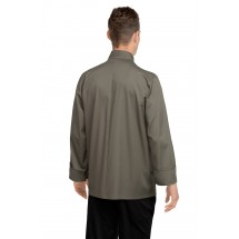 Chef Works CCBA-OLI Perugia Olive Basic Chef Coat addl-1