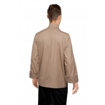 Chef Works CCBA-KHA Cyprus Khaki Basic Chef Coat addl-2