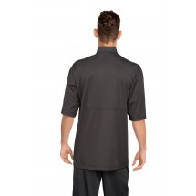 Chef Works JLCV-BLK Montreal Cool Vent Basic Chef Coat, Black addl-2