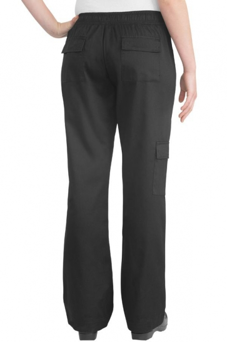 4c91e446164 Chef Works CPWO-BLK Women s Cargo Chef Pants