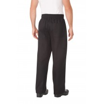 Chef Works EBCP Black Designer Baggy Pants addl-2