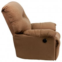 Flash Furniture AM-CP9350-2600-GG Contemporary Calcutta Camel Microfiber Power Chaise Recliner addl-5