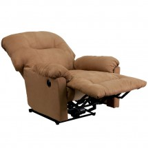 Flash Furniture AM-CP9350-2600-GG Contemporary Calcutta Camel Microfiber Power Chaise Recliner addl-6