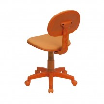 Flash Furniture BT-698-ORANGE-GG Orange Fabric Ergonomic Task Chair addl-2