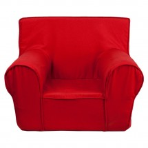 Flash Furniture DG-CH-KID-SOLID-RED-GG Solid Red Small Kids Chair addl-1