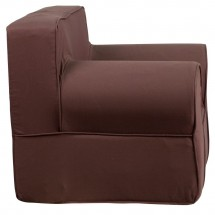 Flash Furniture DG-LGE-CH-KID-SOLID-BRN-GG Oversized Solid Brown Kids Chair addl-2