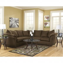 Flash Furniture FSD-1109SEC-CAF-GG Signature Design by Ashley Darcy Sectional in Cafe Fabric addl-3