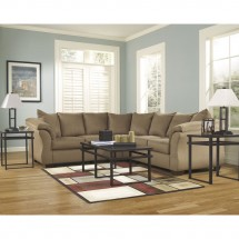 Flash Furniture FSD-1109SEC-MOC-GG Signature Design by Ashley Darcy Sectional in Mocha Fabric addl-3