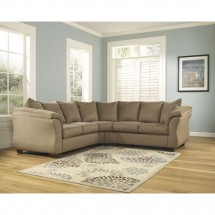 Flash Furniture FSD-1109SEC-MOC-GG Signature Design by Ashley Darcy Sectional in Mocha Fabric addl-2