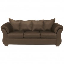 Flash Furniture FSD-1109SET-CAF-GG Signature Design by Ashley Darcy Living Room Set in Cafe Fabric addl-1