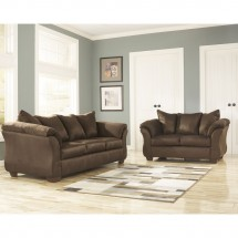 Flash Furniture FSD-1109SET-CAF-GG Signature Design by Ashley Darcy Living Room Set in Cafe Fabric addl-3