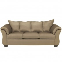 Flash Furniture FSD-1109SET-MOC-GG Signature Design by Ashley Darcy Living Room Set in Mocha Fabric addl-1