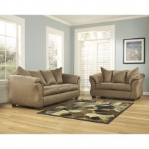 Flash Furniture FSD-1109SET-MOC-GG Signature Design by Ashley Darcy Living Room Set in Mocha Fabric addl-3