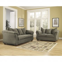 Flash Furniture FSD-1109SET-SAG-GG Signature Design by Ashley Darcy Living Room Set in Sage Fabric addl-3